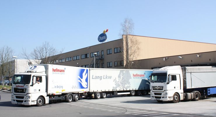 Hellmann Worldwide Logistics, Lang-Lkw