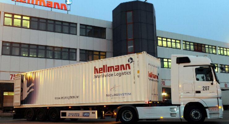 Hellmann überwacht Container per Satellit