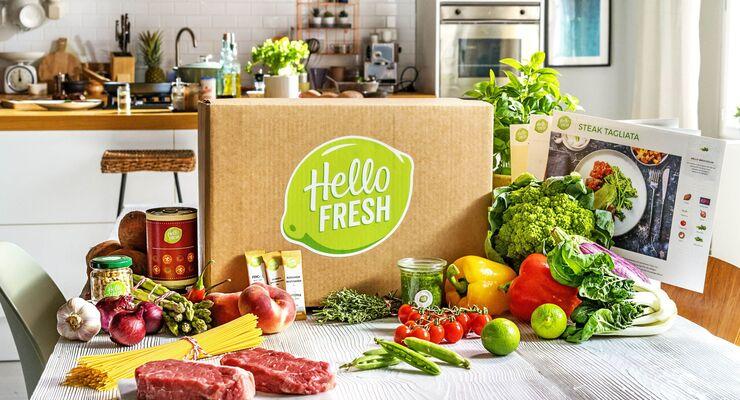 HelloFresh, Foodbox