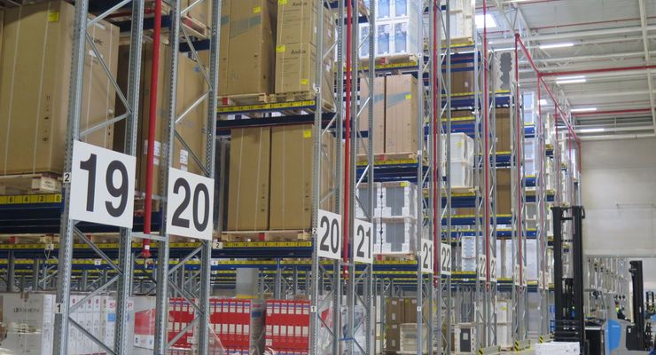 Hermes Logistikzentrum Löhne