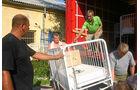 Hilfstransport nach Bosnien, medizinische Hilfsgüter