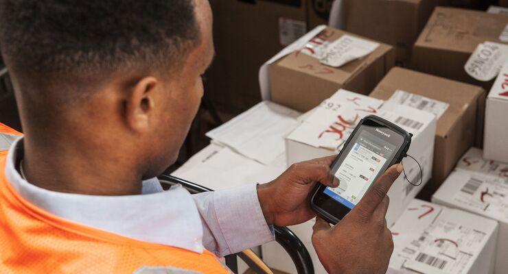 Honeywell, Logistik, Lager, Scanner, Handheld