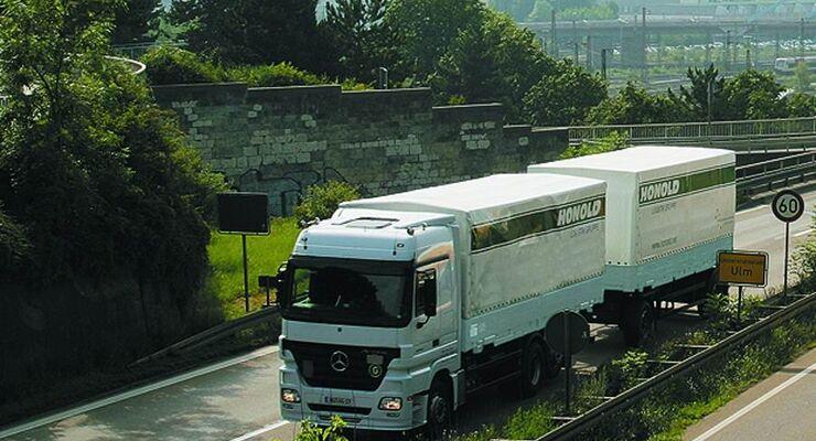 Honold Logistik, Grüne Logistik, Solar, Photovoltaik, Lkw