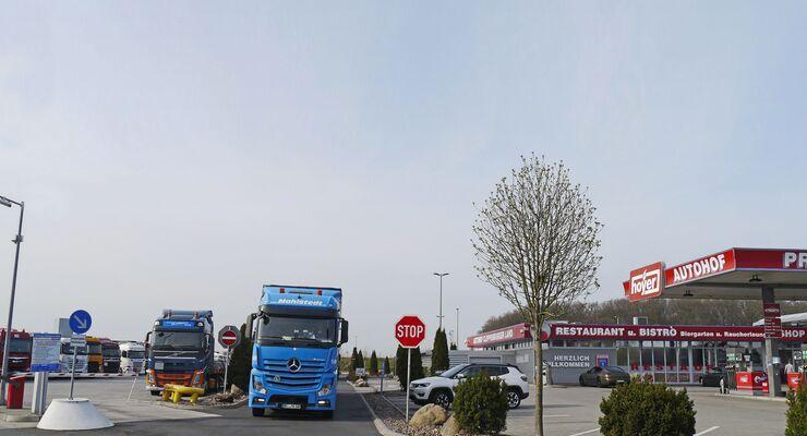 Hoyer-Autohof Emstek, Truckstop FF 10/2018.