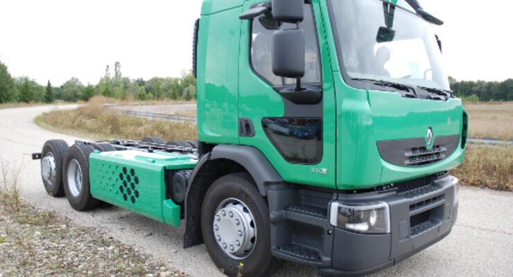 Hybrid-Truck mit 26 Tonnen Gesamtgewicht