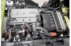 Hybrid- gegen konventionellen Antrieb, vier Zylinder, OM 924 LA