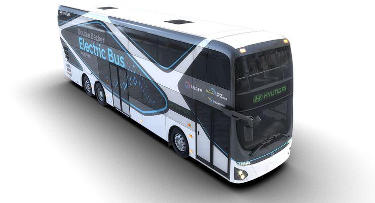 Hyundai Elektro-Doppeldecker