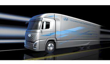 Hyundai FCEV Brennstoffzellen-Lkw Brennstoffzelle IAA 2018 Xcient