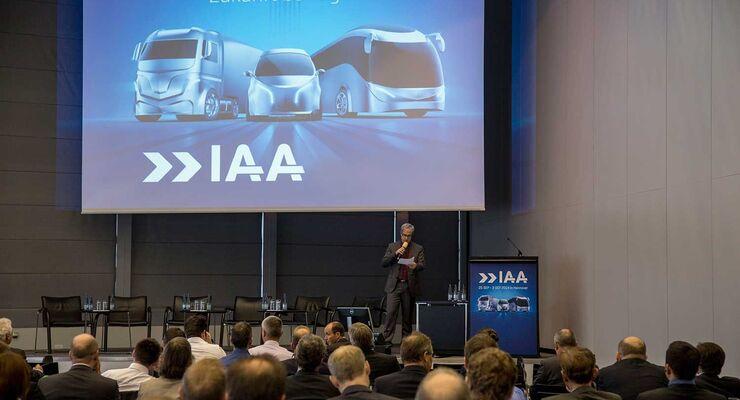 IAA Veranstaltung, Rosenberger, Plenum, Zuschauer
