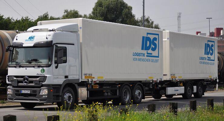 IDS Logistik, Lkw, Stückgutkooperation
