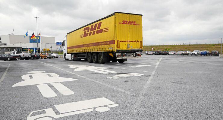 IKEA Distributionszentrum Dortmund Parkplatze Fur Lkw Fahrerinnen