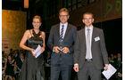 Importwertung: Lieferwagen, v. li.: Alexandra von Lingen, Stefan Hoy, Nissan Center Europe GmbH, Matthias