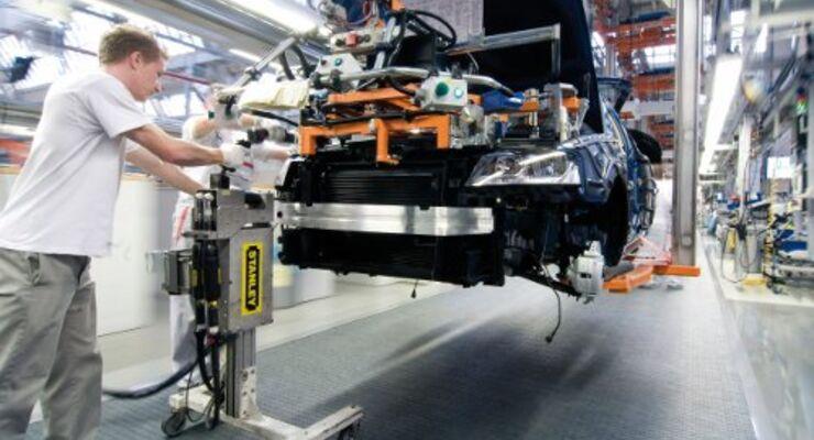 Industrieproduktion steigt wieder an