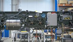 Integration Brennstoffzelle in Lkw