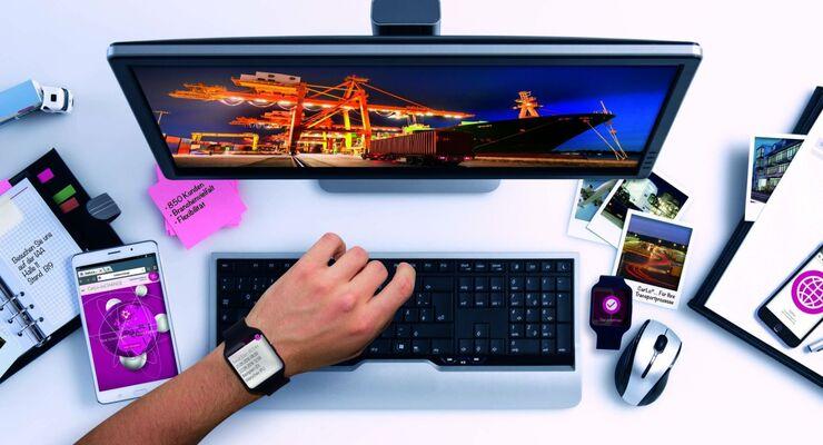Intouch mit integrierter Smartwatch