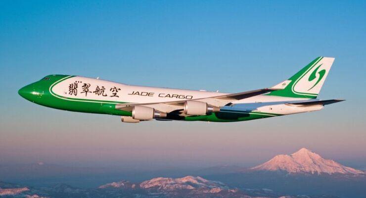 Jade Cargo, Jumbo Jet, Frachtflugzeug, Boeing 747