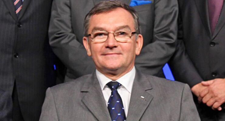 Janusz Lacny, 2011, IRU, Präsident