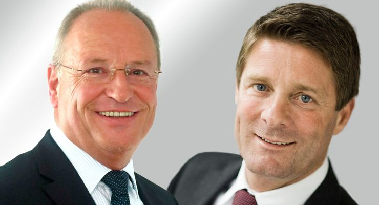Joachim Fink, Geschäftsführer Geis, Christian Fürstaller, Geschäftsführer, Quehenberger