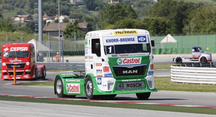 Jochen Hahn fuehrt nach dem ersten Rennen in Misano die Tabelle an - mit 44 Zaehlern.