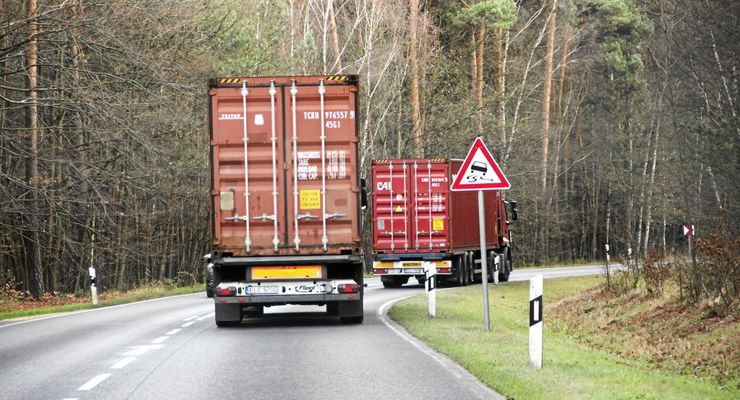 Kabotage, Ausländische Unternehmen, Transport, Lkw, Fahrt