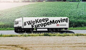 Kampagne, WeKeepEuropeMoving, DB Schenker, Lkw