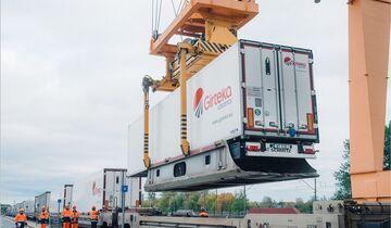 Kombinierter Verkehr bei Girteka Logistics