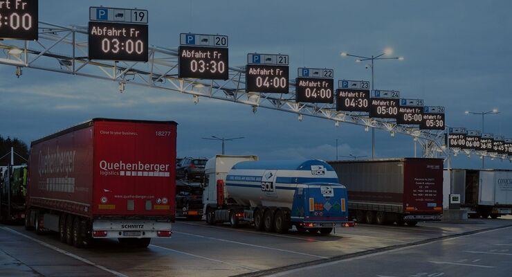 Kompaktparken für Lkw