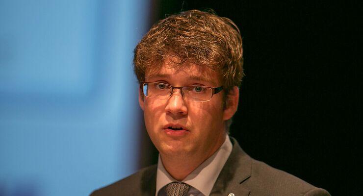 Krone-Projektleiter Jens Liesen