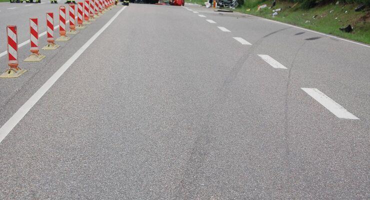 Landstraße, Unfall, Sicherheit