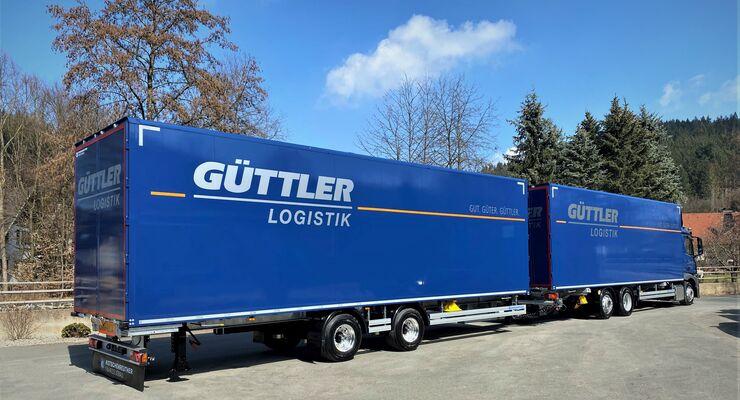 Lang-Lkw von Güttler Logistik