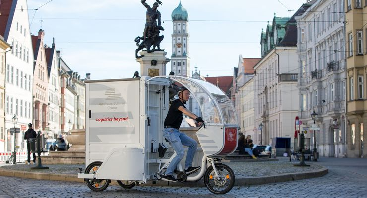 Lastenrad von  Andreas Schmid Logistik