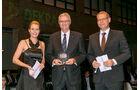 Lichteinrichtung, v. li.: Alexandra von Lingen, Ludger Claes, Hella KGaA Hueck & Co., Oliver Trost