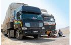 Lkw-Fahren im Libanon, Mercedes, Sinotruck