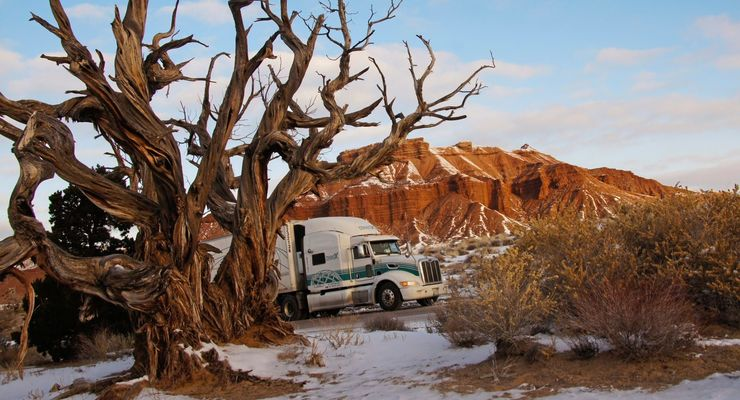Lkw-Fahren in Nordamerika