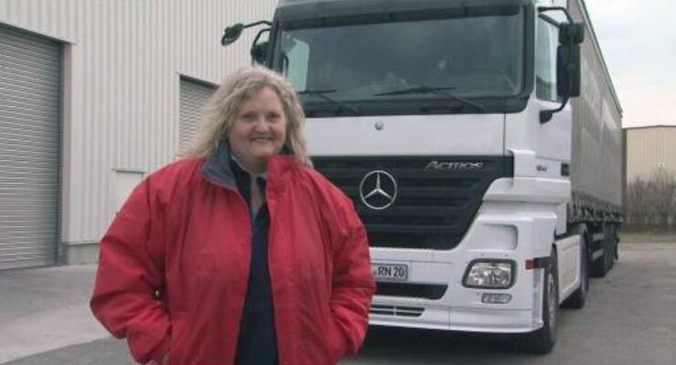 Lkw-Fahrerin: Verena hat ihren Traumjob