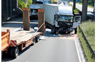 Lkw-Unfall, A61, 2 Lkw-Fahrer sterben am Stauende