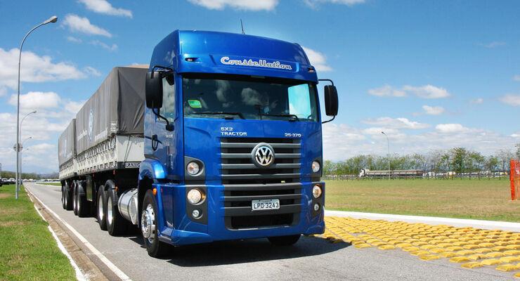 Lkw und Busse von MAN Latin America