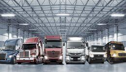 Lkw von Daimler Trucks