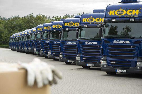 Lkw von Koch International, Osnabrück