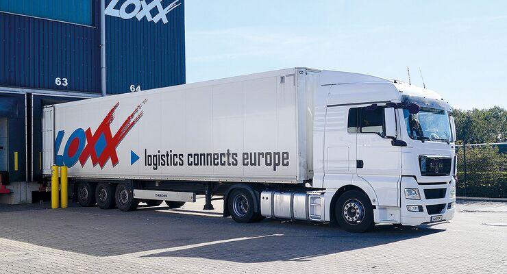Lkw von Loxx Logistics