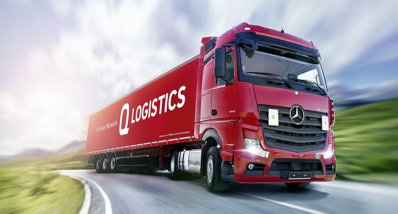 Lkw von Q-Logistics