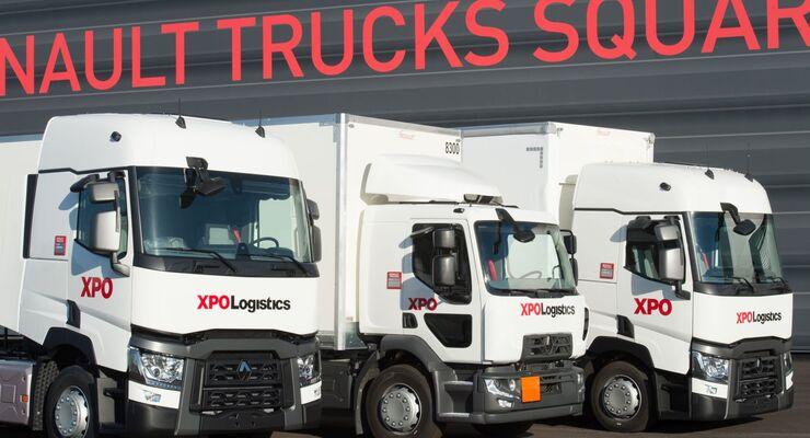 Lkw von XPO Logistics