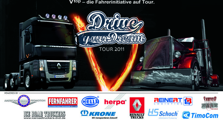 Logo Drive you Dream Tour