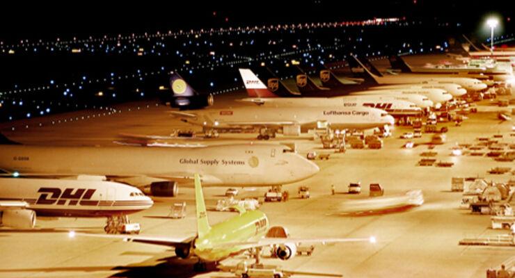 Luftfracht steigt auf 4,1 Millionen Tonnen