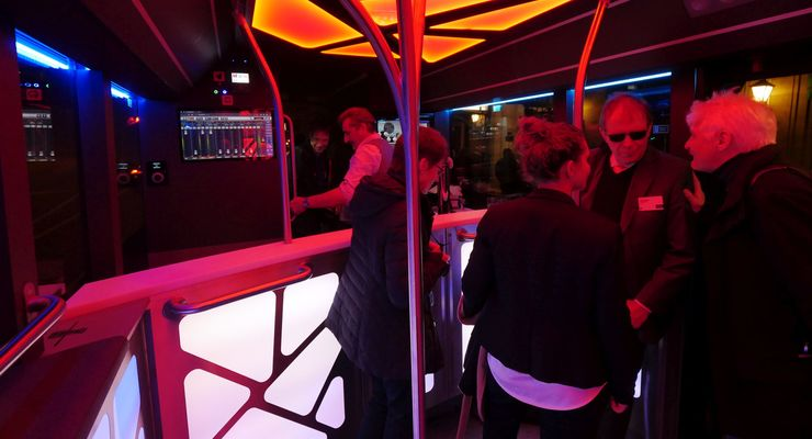 MAN Lion's City als Disco-Bus