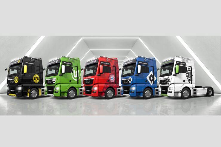 MAN TGX Bundesliga-Trucks 2019/2020