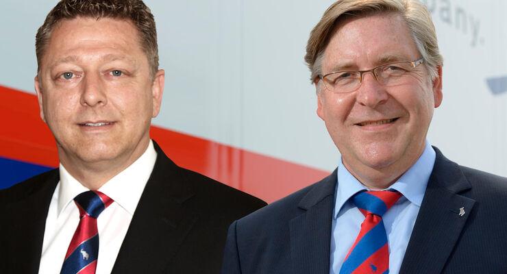 Marco Reichwein (links) und Karl-Heinz Neu von Schmitz Cargobull.