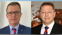 Marnix Lannoije (links) folgt auf Marco Reichwein.
