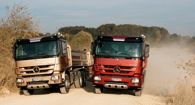 Mercedes Actros 2646 LK Powershift, Mercedes Actros 2646 LK Telligent