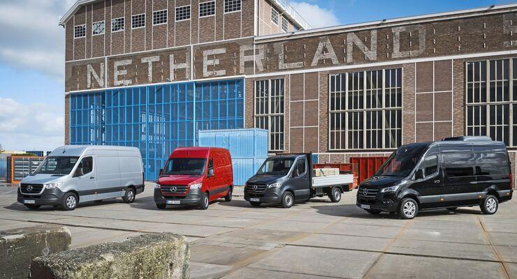 Mercedes-Benz Vans: Der neue Sprinter: Intelligent, interaktiv und innovativ  Mercedes-Benz Vans: The new Sprinter: Intelligent, interactive and innovative